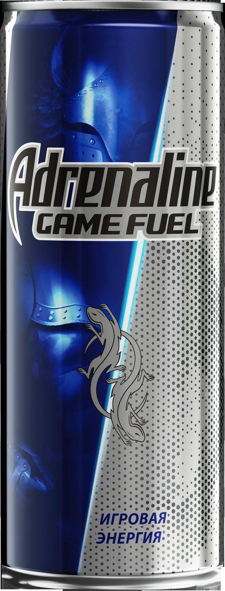 лучшая цена Adrenaline Game Fuel энергетический напиток, 0,25 л