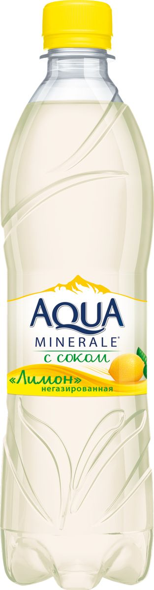 Aqua Minerale с соком Лимон напиток негазированный, 0,6 л