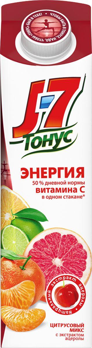J-7 Тонус Смесь цитрусовых-Ацерола нектар с мякотью 0,9 л