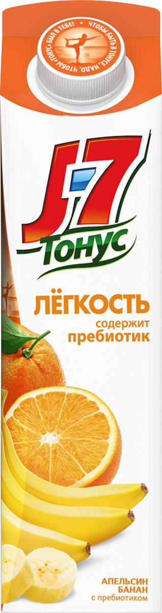 J-7 Тонус Апельсин-Банан нектар с мякотью 0,9 л