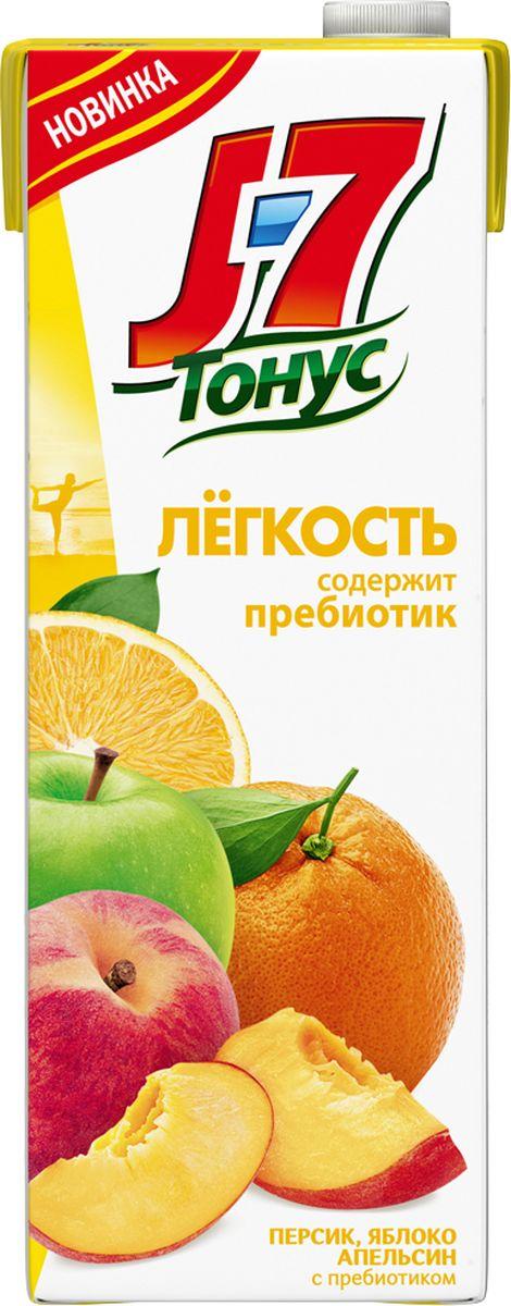 J-7 Тонус Апельсин-Яблоко-Персик нектар с мякотью 1,45 л