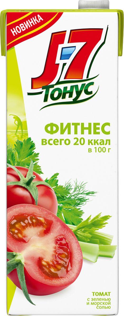 J-7 Тонус Томат и зелень сок с мякотью, 1,45 л