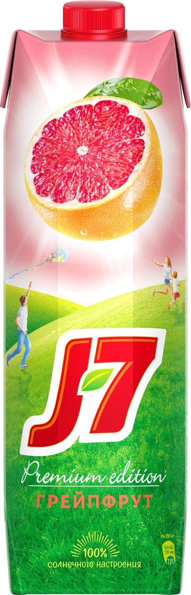 J-7 Грейпфрут нектар с мякотью 0,97 л
