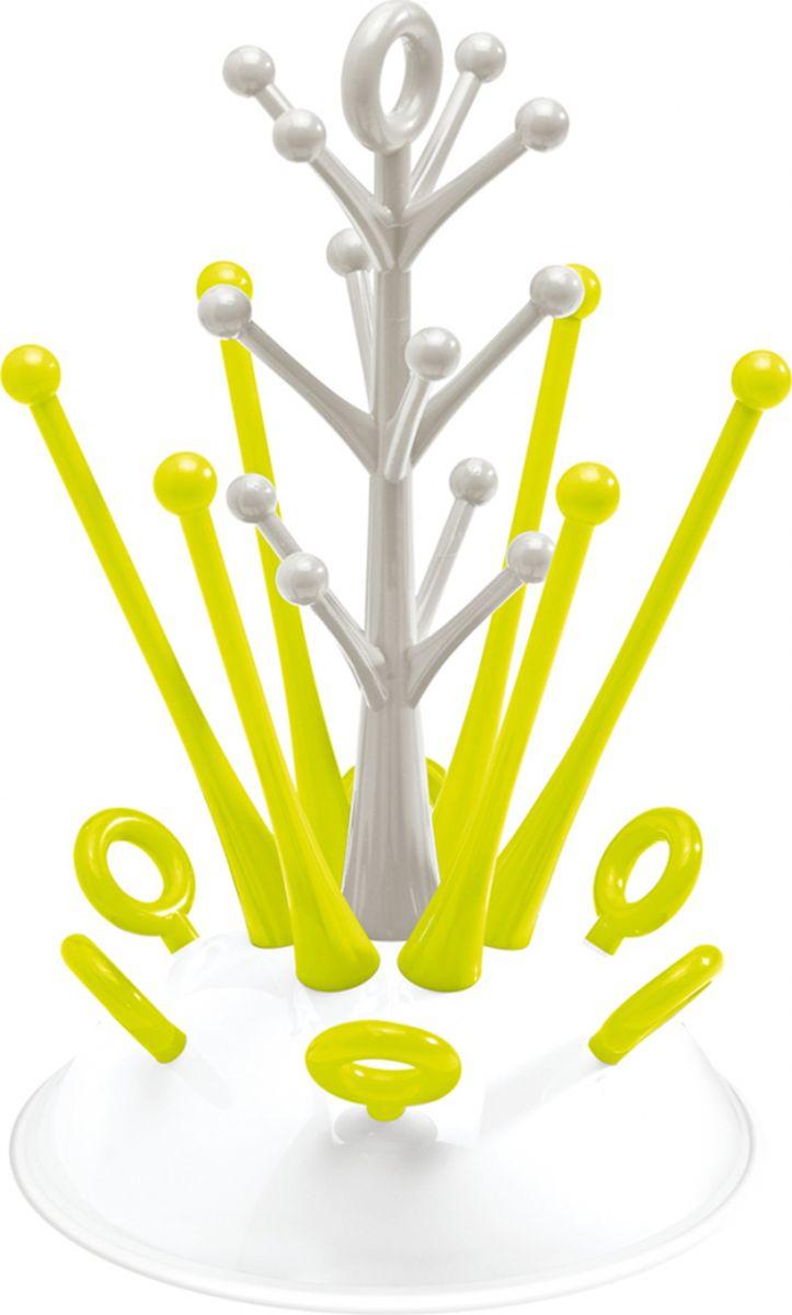 Beaba Держатель-сушилка для бутылочек Tree Draining Rack Neon beaba для бутылочек в стакане grey