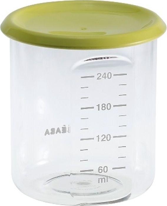 цена на Beaba Контейнер для детского питания Maxi Portion Tritan Neon 240 мл