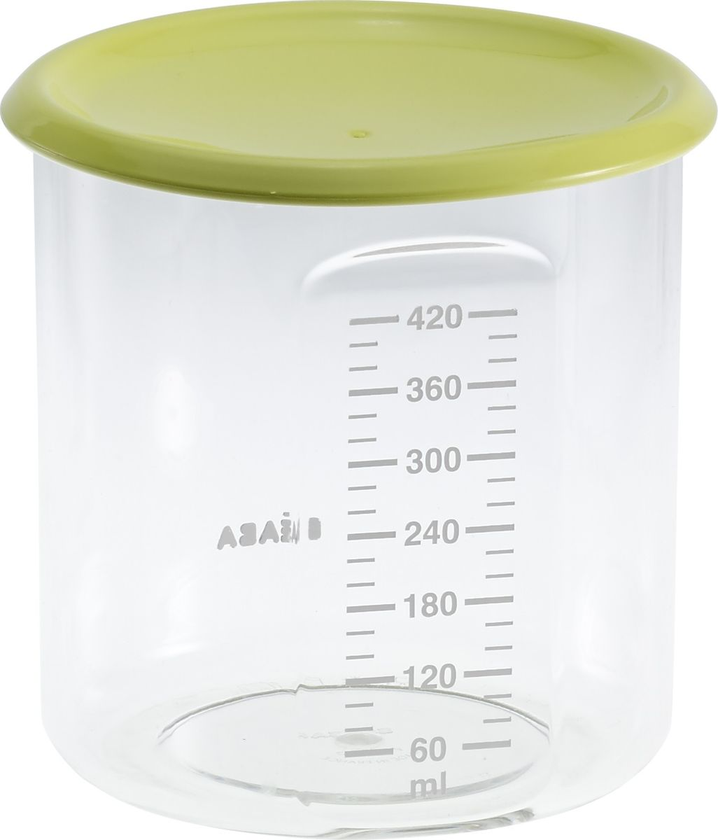 Beaba Контейнер для детского питания Maxi+Portion Tritan Neon 420 мл beaba сушка для бутылок