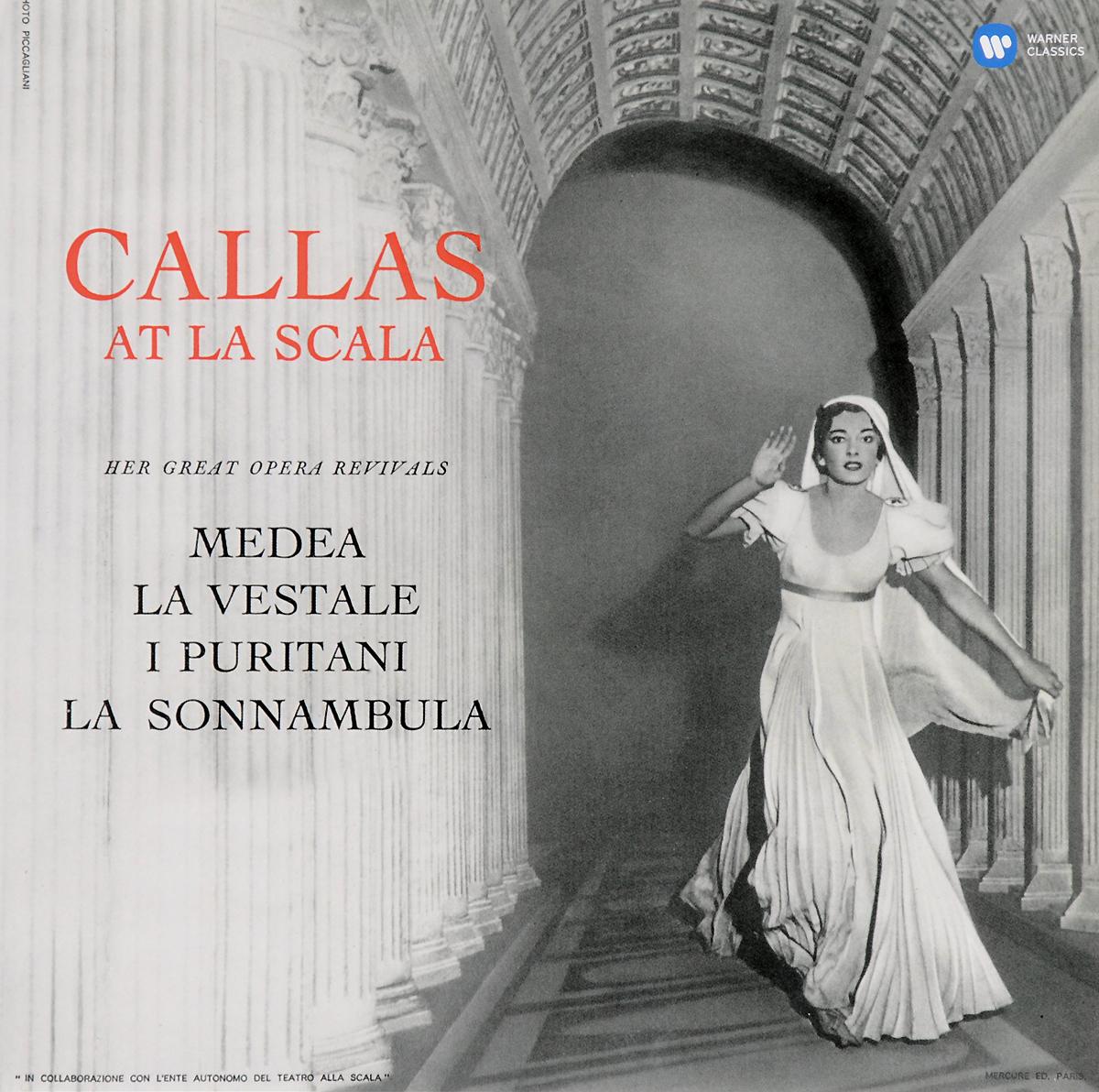 Мария Каллас,Orchestra Del Teatro Alla Scala Di Milano,Туллио Серафин Maria Callas. Callas At La Scala (LP) alla reed orchestra