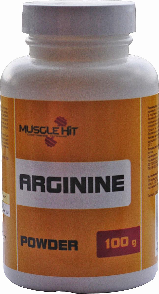 Аминокислотный комплекс Muscle Hit L-Arginine Pro, 100 г. 105057