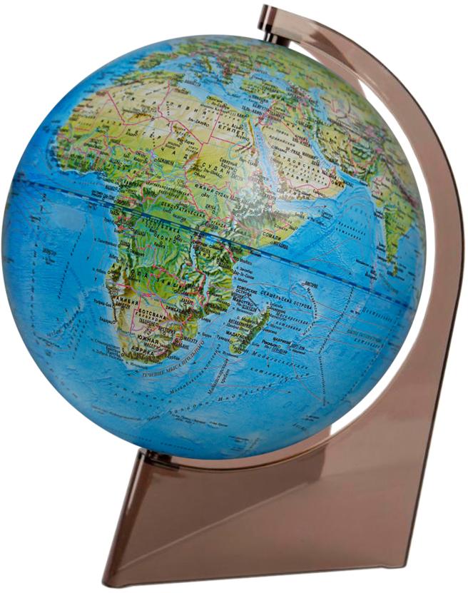 Глобус Глобусный мир, ландшафтный, на треугольной подставке, диаметр 21 см глобусный мир глобус ландшафтный диаметр 32 см