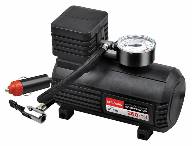 Компрессор автомобильный Starwind CC-120, 15 л/мин
