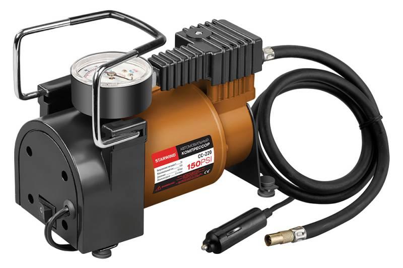 Компрессор автомобильный Starwind CC-220, 35 л/мин