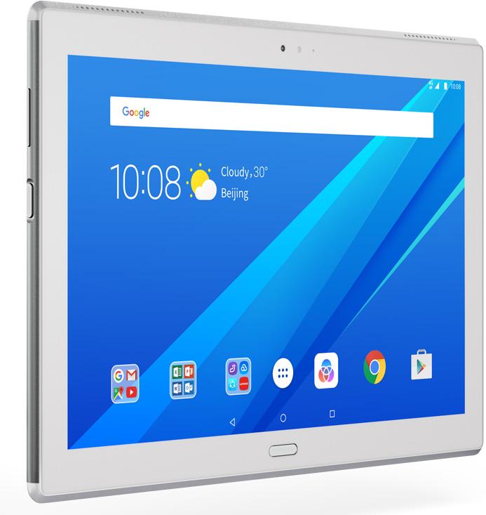Планшет Lenovo Tab 4 10 Plus (TB-X704L), 16 ГБ, белый