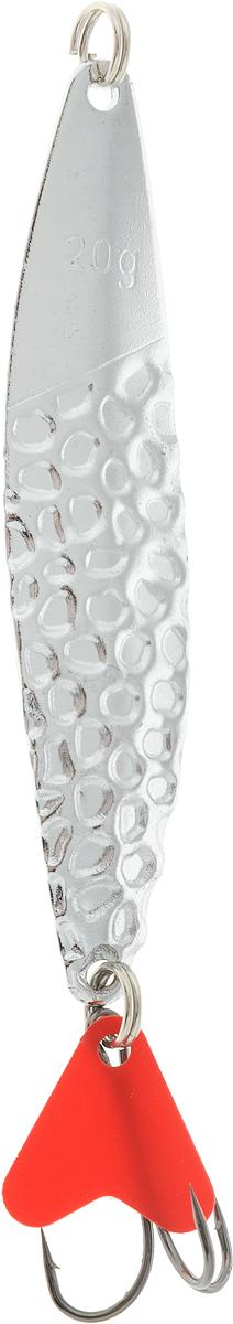 Блесна колеблющаяся SWD Seliger, цвет: серый металлик, 18 г