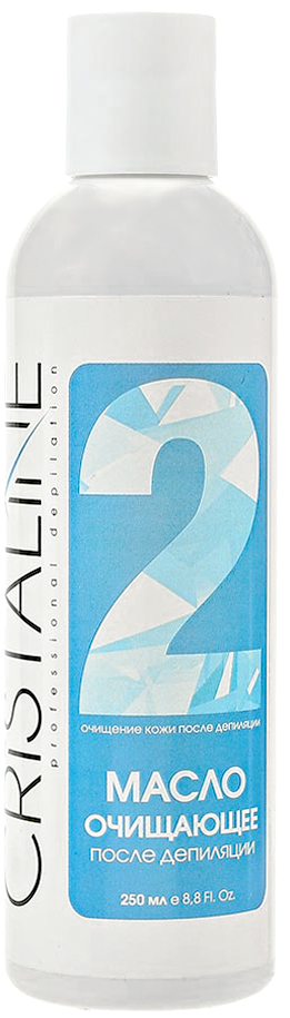 Cristaline NG Масло после депиляции очищающее, 250мл cristaline ng лосьон против вросших волос 250мл