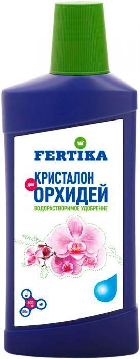 Удобрение Фертика Кристалон, для орхидей, жидкое, 500 мл удобрение жк для орхидей 285 мл