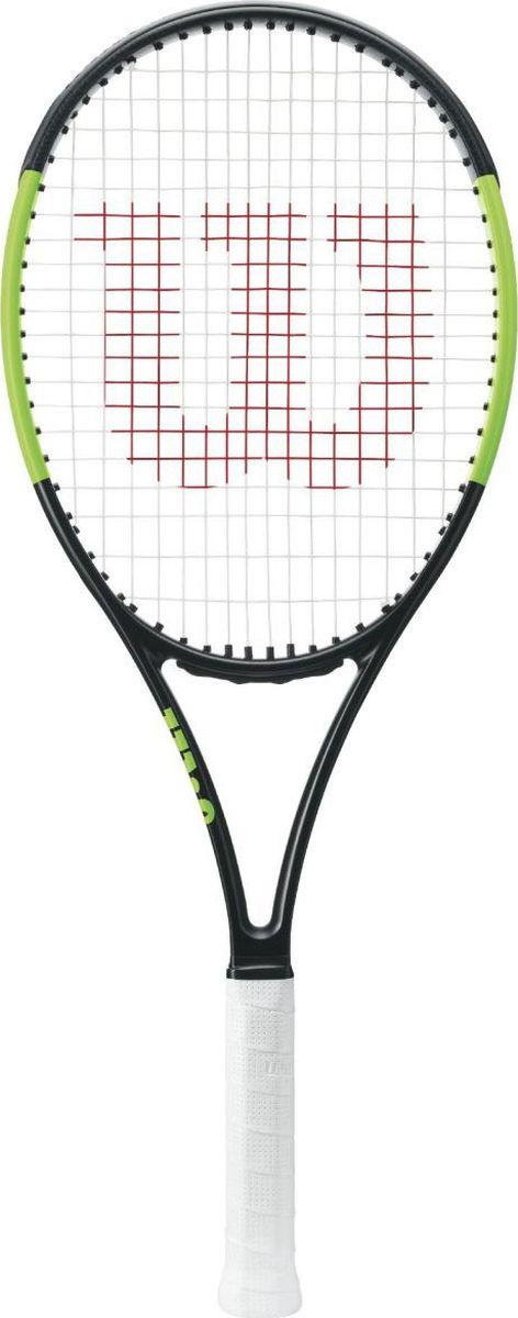 Ракетка теннисная Wilson Blade 101L, цвет: черный цена