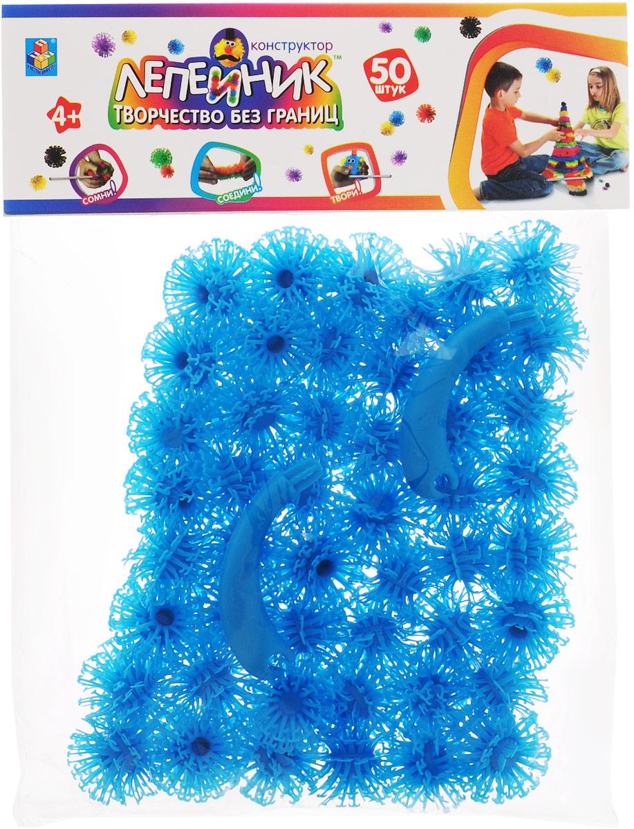 1TOY Конструктор Лепейник цвет голубой Т59405 цена
