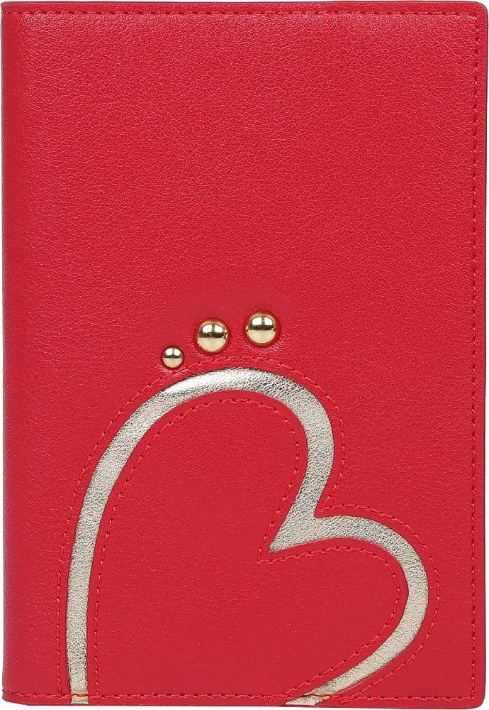 Обложка для документов женская Leo Ventoni. L331010-Rosso цена