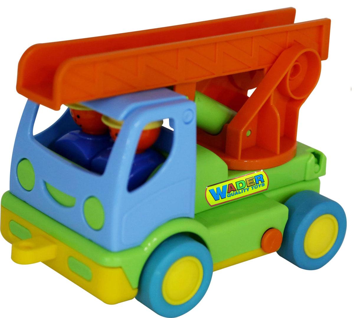 Полесье Пожарный автомобиль Мой первый грузовик 40152, цвет в ассортименте автомобиль пожарный полесье мой первый грузовик в сеточке 3225