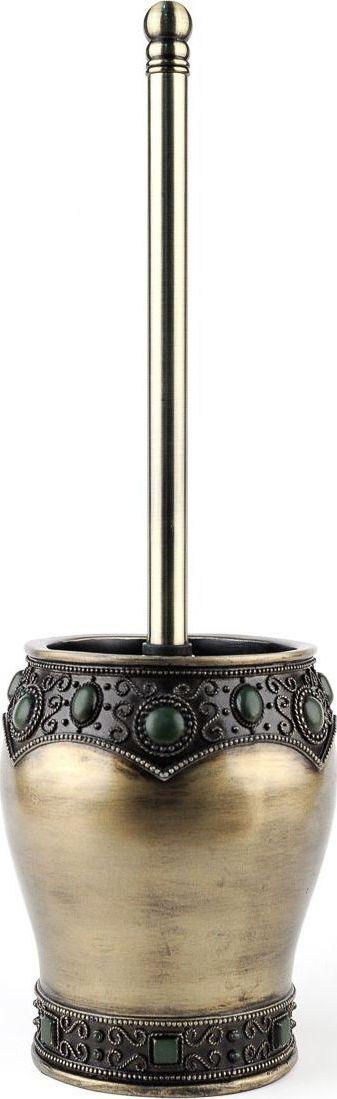 Ершик для туалета Wess Fudjeira, с подставкой, цвет: медный. G79-75 ершик для туалета wess elegance с подставкой цвет белый g79 40