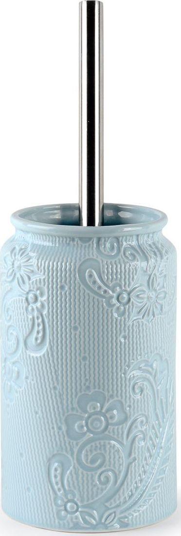Ершик для туалета Wess Frio, с подставкой, цвет: синий. G79-85 ершик для туалета wess elegance с подставкой цвет белый g79 40