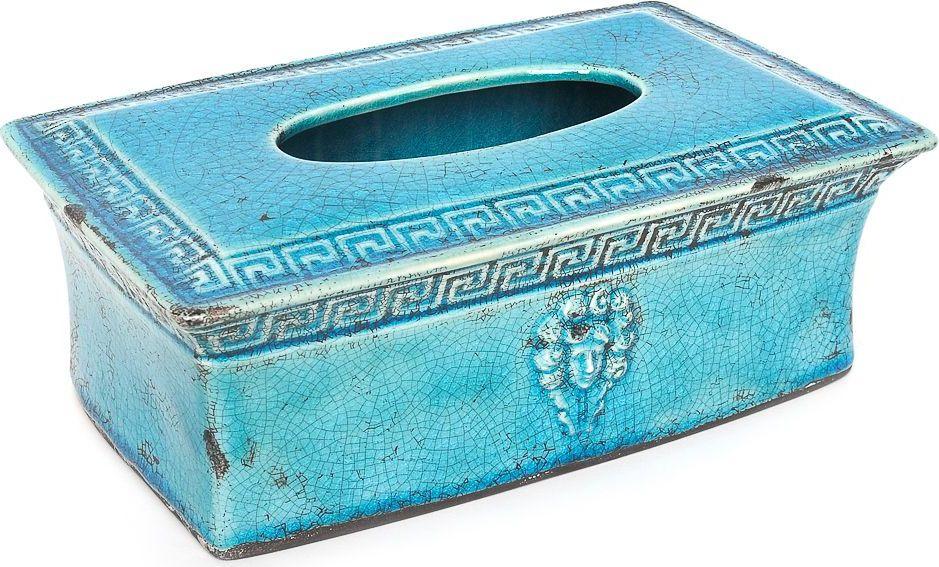 Салфетница Wess Gorgelur, цвет: синий. G82-42 ершик для туалета wess gorgelur с подставкой цвет синий g79 42