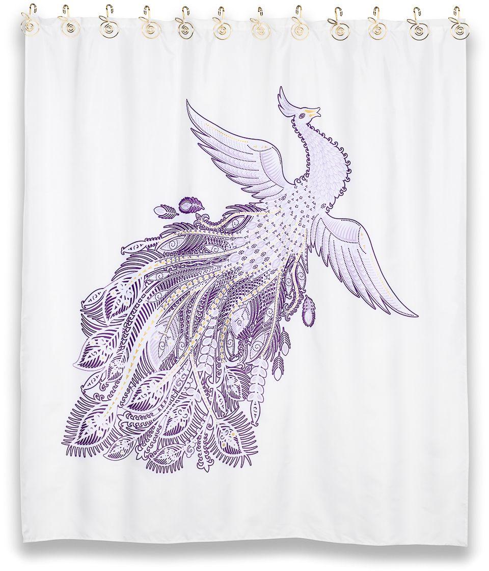 """Штора для ванной Moroshka """"Fairytale"""", 180 х 200 см. xx005-01"""