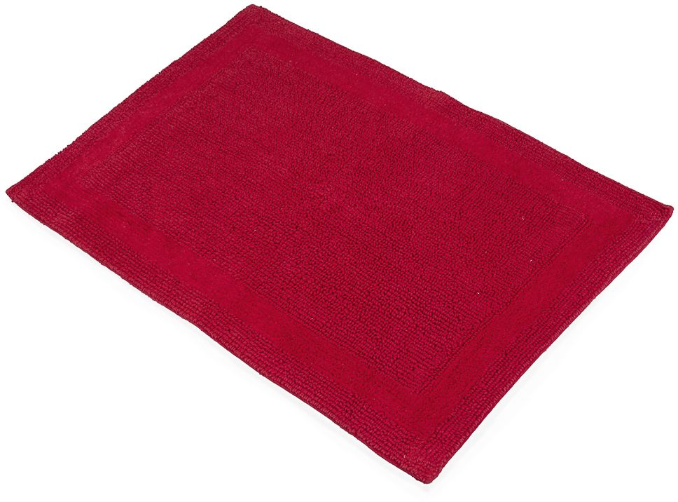 """Коврик для ванной Moroshka """"Maritime"""", цвет: красный, 60 х 90 см"""
