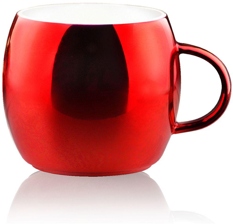 Кружка Asobu Sparkling mugs, цвет: красный, 380 мл термокружка 0 38 л asobu sparkling mugs голубая mug 550 blue