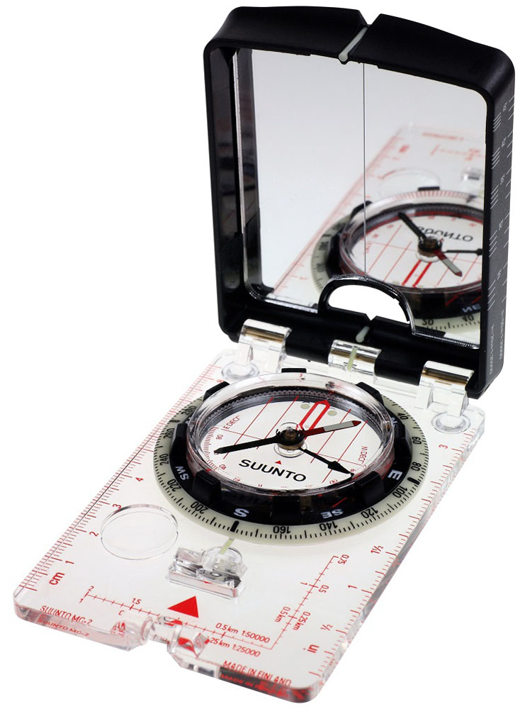 Компас Suunto MC-2 NH Mirror Compass, цвет: белый цена