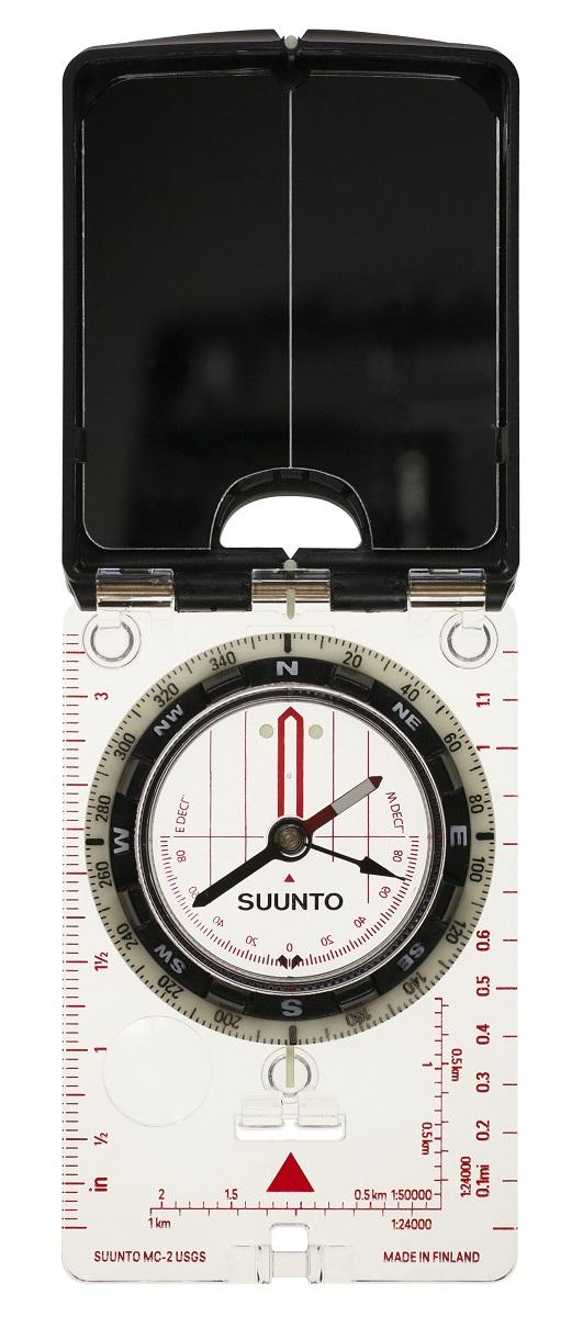 Компас Suunto MC-2 NH USGS Mirror Compass, цвет: белый цена
