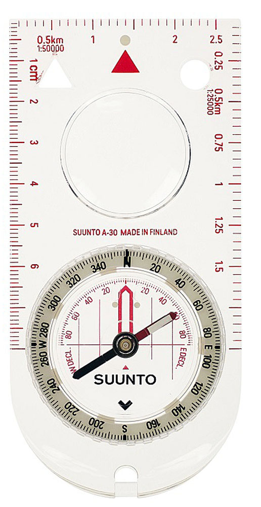 Компас Suunto A-30 SH Metric Compass, цвет: белый цена