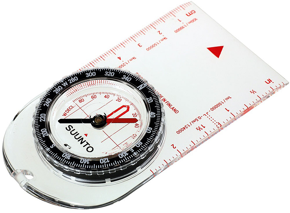 Компас Suunto A-10 NH Compass, цвет: белый