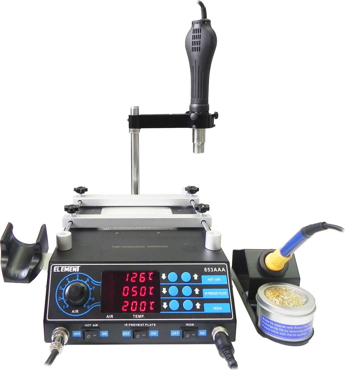 Паяльная станция Element 853AAA нагревательный элемент для станции element 702 853d