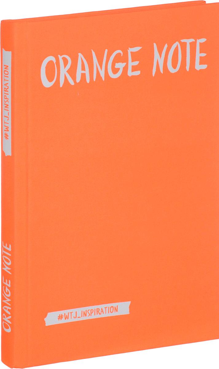 Orange Note. Творческий блокнот с флуоресцентными страницами (твердый переплет) summer блокнот скетчи лизы красновой