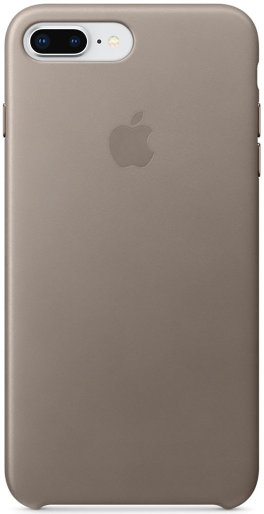 Apple Leather Case чехол для iPhone 7 Plus/8 Plus, Taupe