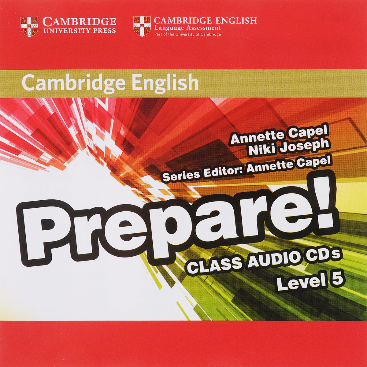 Prepare! Level 5 (аудиокнига на 2 CD) cambridge plays the pyjama party elt edition cambridge storybooks