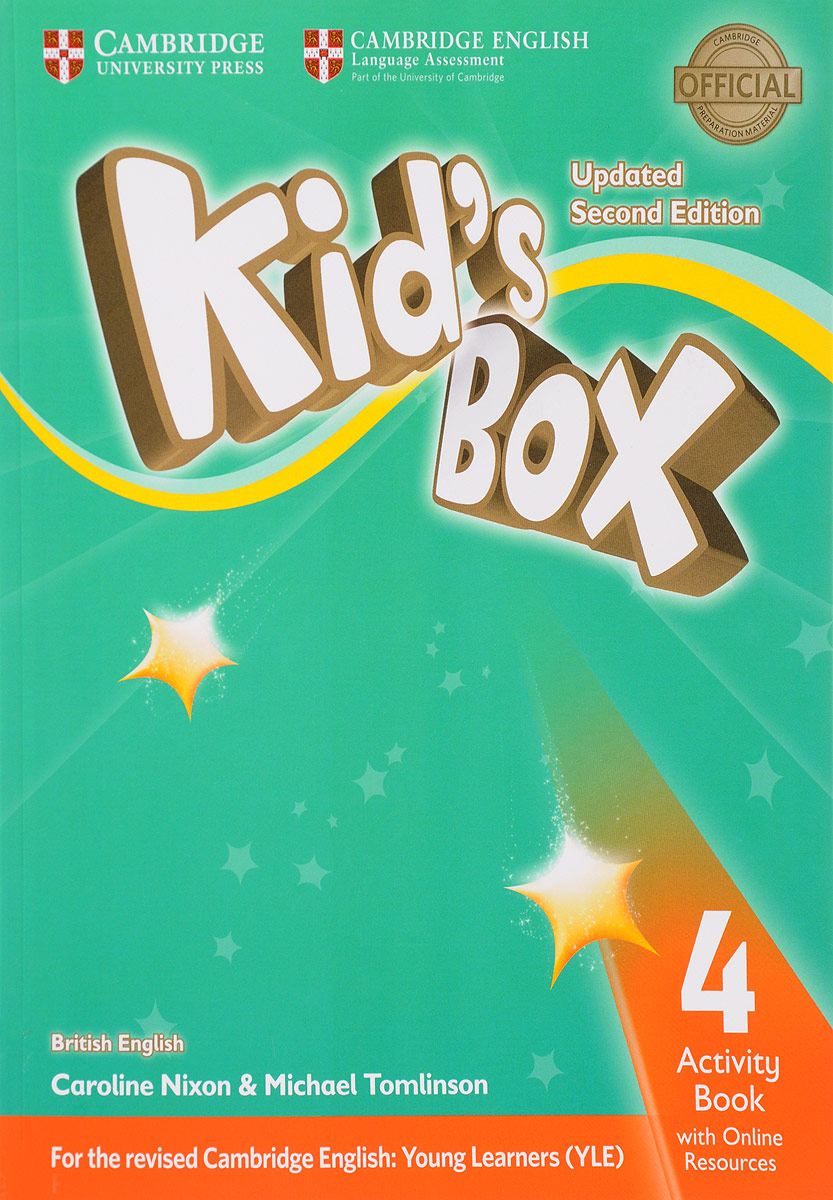 цена на Kid's Box: Activity Book 4 with Online Resource