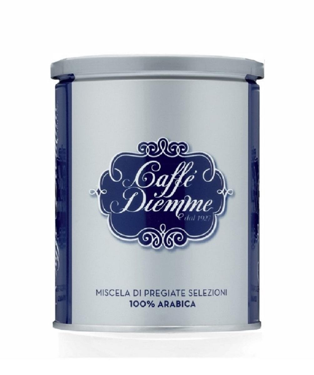 Diemme Caffe Blue Espresso кофе молотый, 250 г melitta кофе bellacrema espresso молотый со стеклянной сахарницей в подарок 250 г