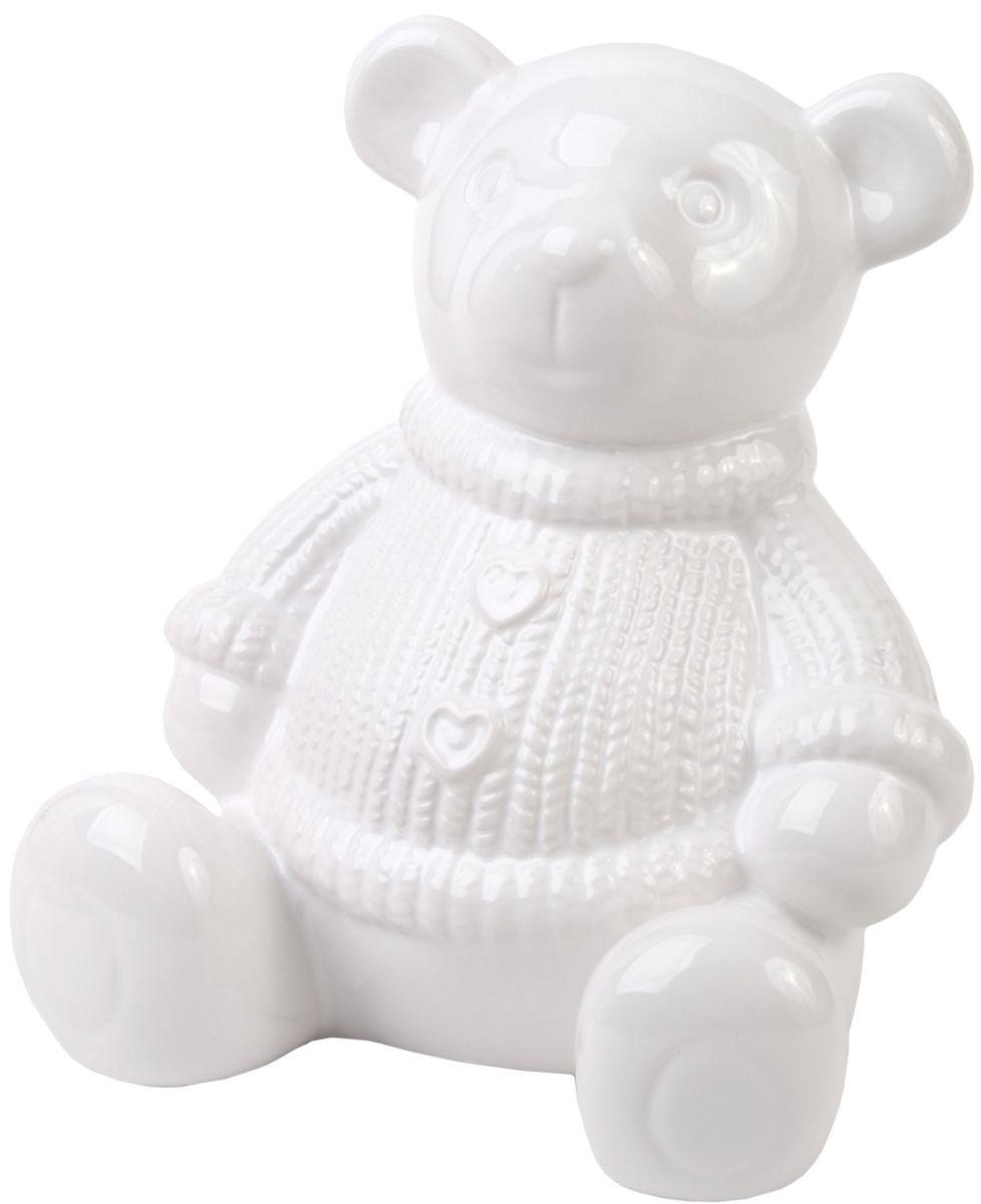 Копилка декоративная Magic Time Медвежонок, 13,8 х 13 х 15,8 см копилка медвежонок белый magic home