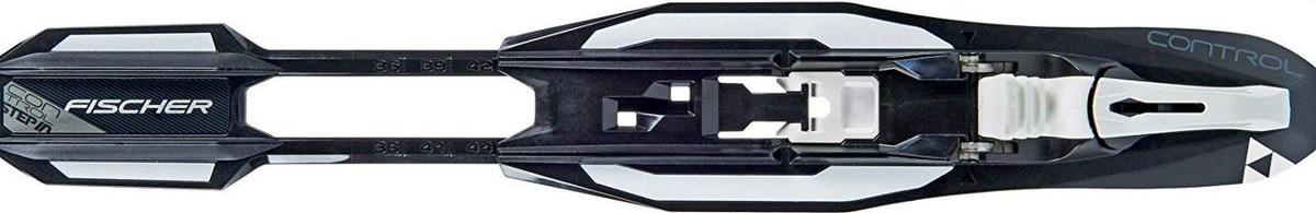 """Беговые крепления Fischer """"Control Step-In IFP"""", цвет: черный, белый. Размер 35/52. S60017"""