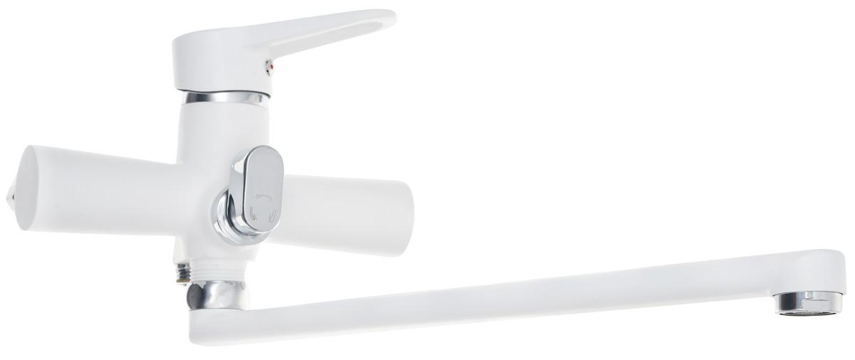 Фото - Смеситель для ванны и душа РМС, цвет: белый. SL77W-006E смеситель для душа рмс sl77 белый sl77w 003