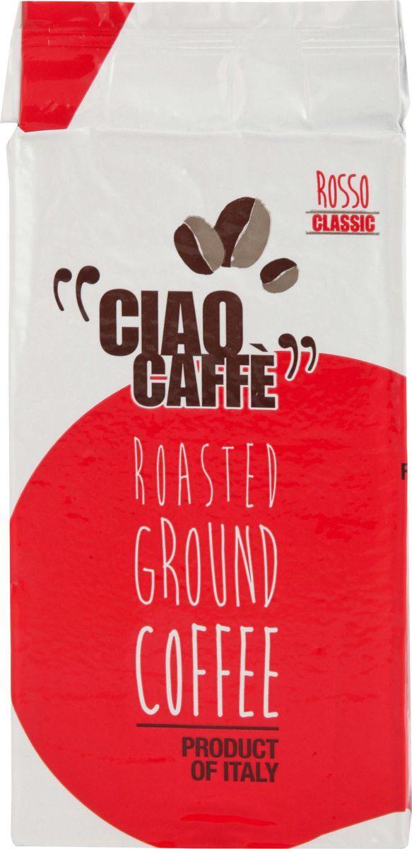 Ciao Ciao Caffe Rosso Classic кофе молотый, 250 г цены