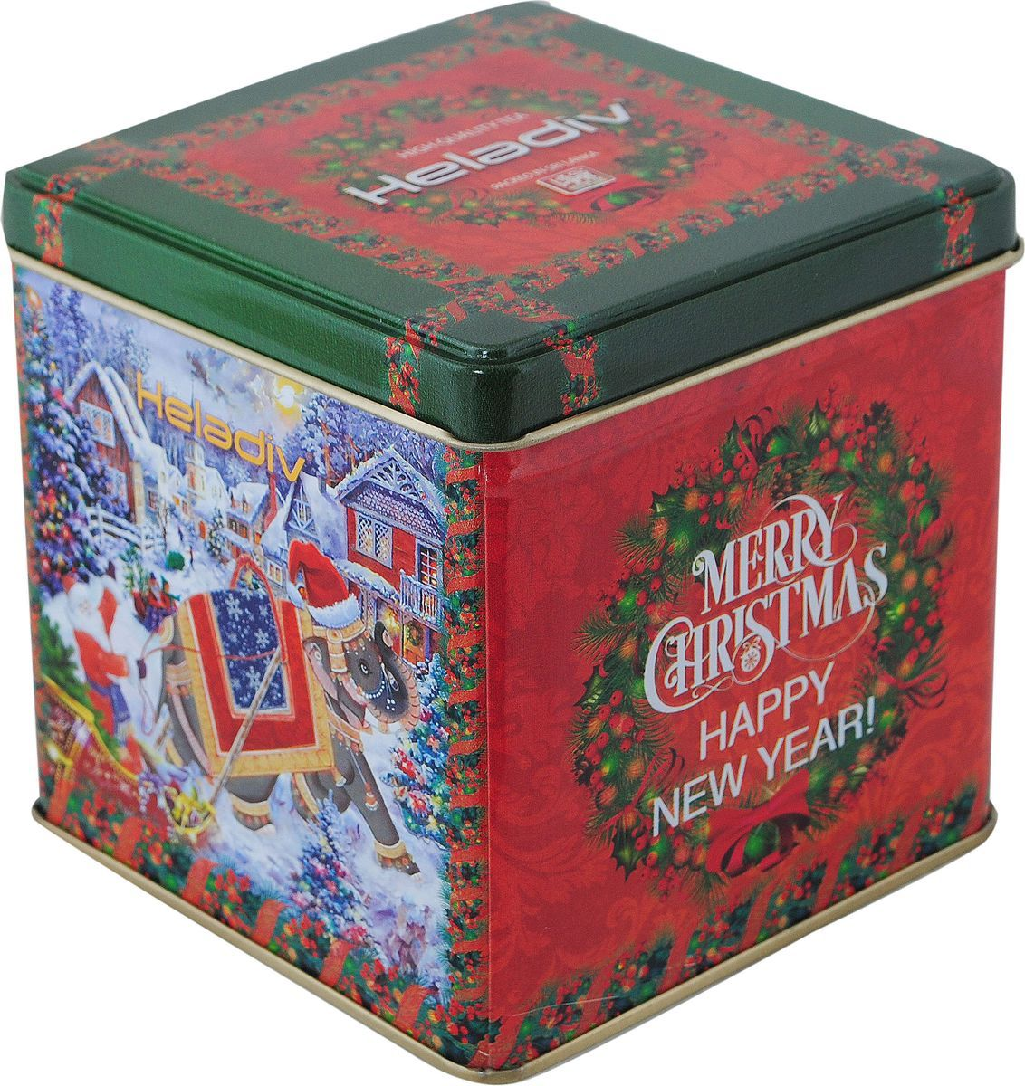 Heladiv Winter Elephant Opa Tin черный чай, 250 г ур ала чай черный крупнолистовой 85 г
