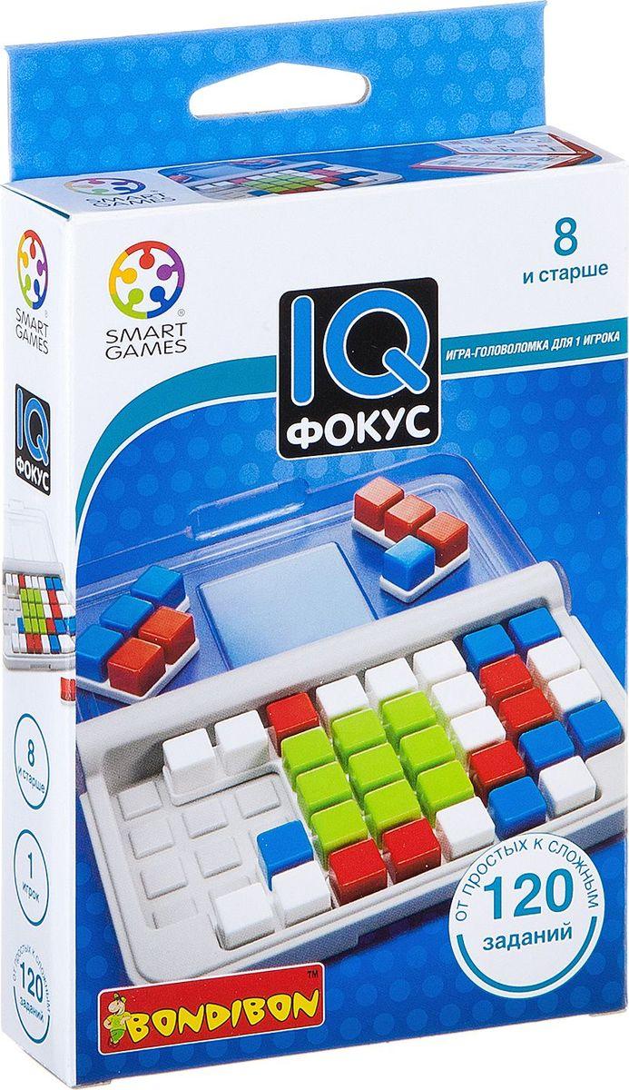 Bondibon Настольная игра IQ-Фокус настольная игра логическая bondibon iq спутник гения вв1890