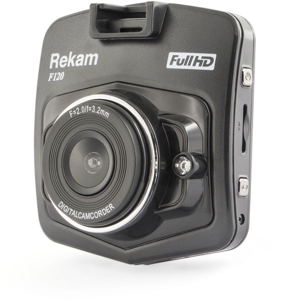 Rekam F120, Black видеорегистратор