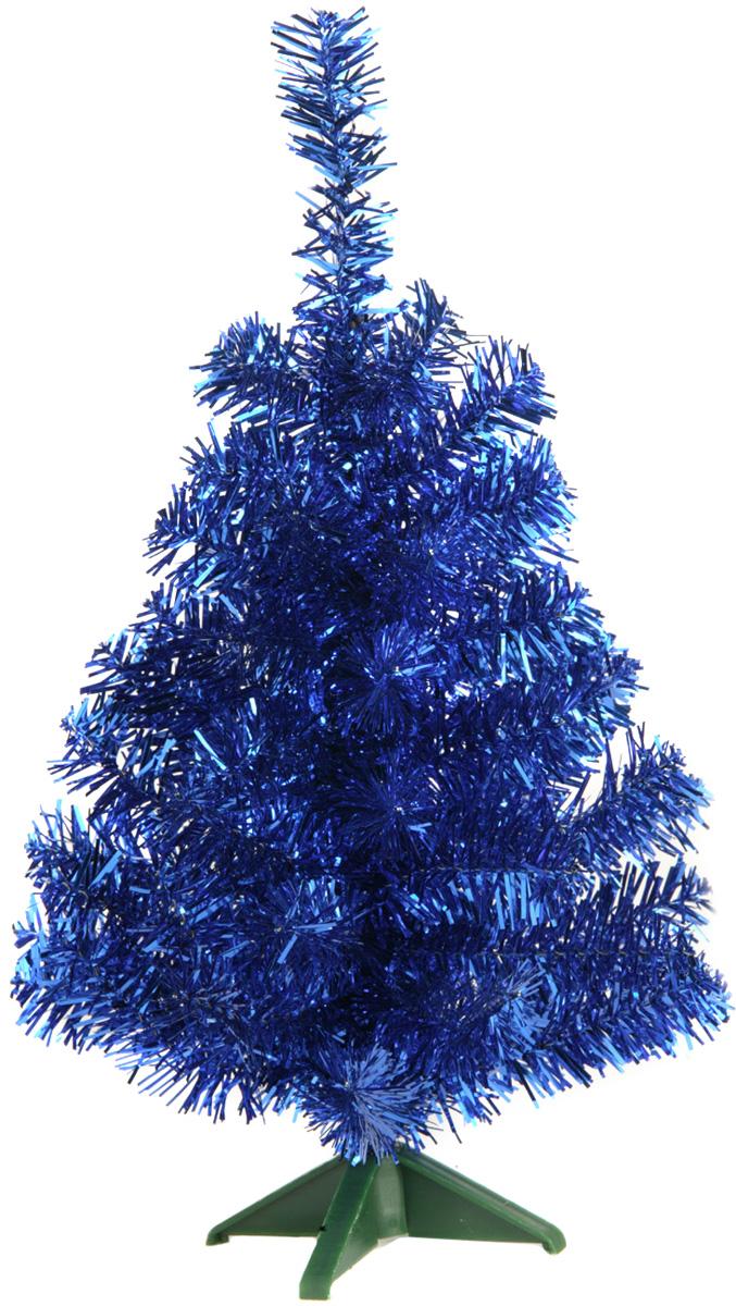 Ель искусственная Morozco, настольная, цвет: синий, высота 30 см ель искусственная morozco настольная цвет серебристый высота 30 см