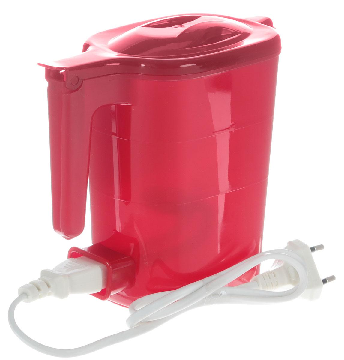 Электрический чайник Мастерица ЭЧ 0,5/0,5-220, цвет рубин Мастерица