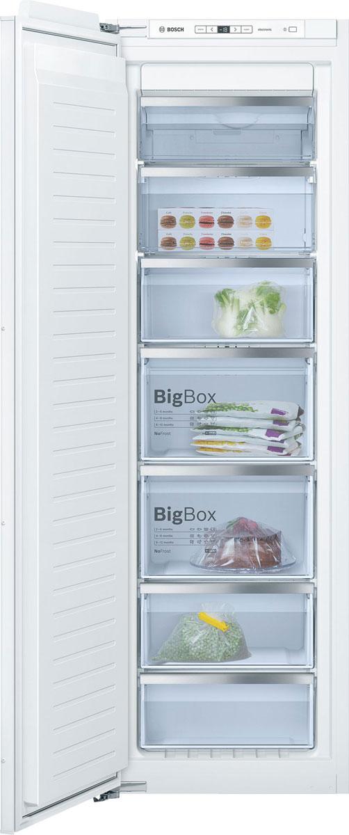 Bosch GIN81AE20R морозильник встраиваемый