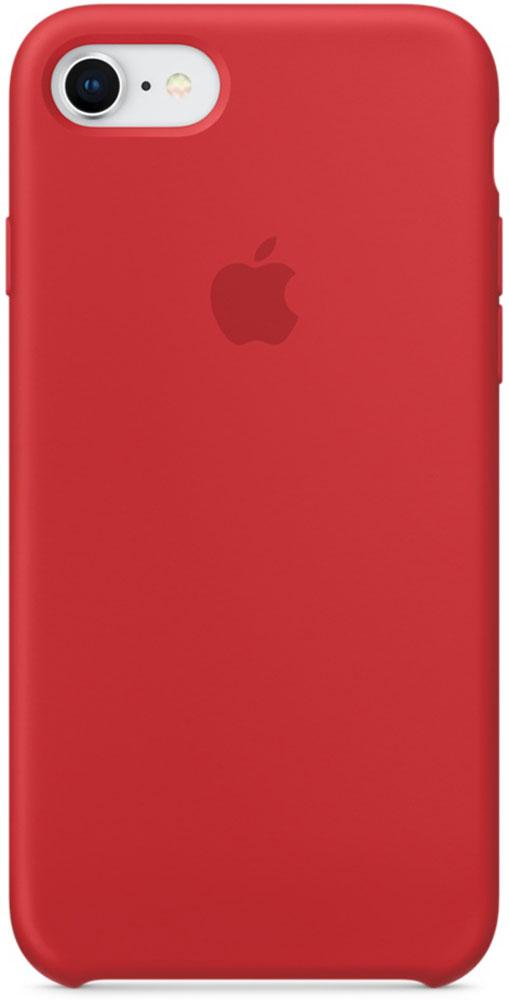 Apple Silicone Case чехол для iPhone 7/8, Product Red силиконовый чехол apple silicone case для iphone 8 7 цвет product red красный